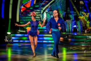 Strictly Come Dancing dave salsa