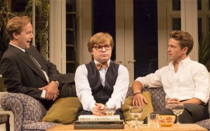 Geoffrey Streatfeild (Daniel), Jonathan Broadbent (Guy) and Julian Ovenden (John) in My Night With Reg. Photo by Johan Persson..jpg