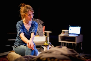 Production photographs for The Distance by Deborah Bruce, directed by Charlotte Gwinner for Orange Tree Theatre, October 2014