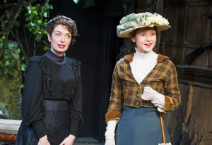 Charlotte Powell (Janet De Mullin) and Alexandra Dowling (Bertha) in The Last Of The De Mullins credit Tristram Kenton
