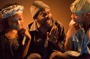 The Rise and Shine of Comrade Fiasco at Gate Theatre. Photo credit Michael Shelford. (4)