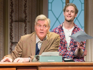 Dear Lupin. James Fox (Roger Mortimer) and Jack Fox (Charlie Mortimer). Photo credit Manuel Harlan (3)