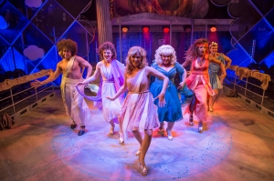 Carly Anderson and the company of Xanadu (2)