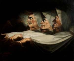 Henry Fuseli, 'Macbeth', Act I, Scene 3, the Weird Sisters © Royal Shakespeare Company Collection, Stratford-upon-Avon, Warwickshire
