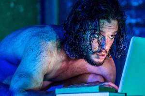 EMBARGOED until 26 04 16 Kit Harington in Doctor Faustus. Running at the Duke of York's Theatre London until 25 June 2016  CREDIT Marc Brenner