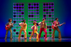 'Motown' Musical performed at the Shaftsbury Theatre, London, UK